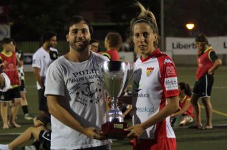 El Santa Teresa Badajoz golea al Boavista FC en su presentación (2)