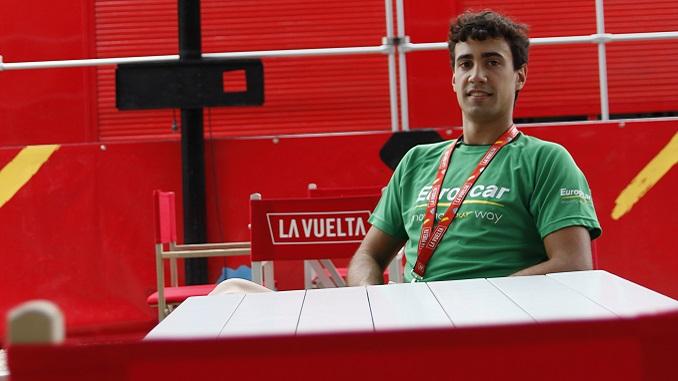 El extremeño Darío Castañares en La Vuelta 2017