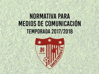 Normativa Medios de Comunicación Santa Teresa Badajoz 2017/2018
