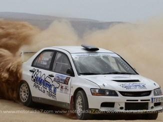 Segunda posición de Quijada y Canelo en el XX Rallye de tierra Isla de los Volcanes - Foto - Motor al Día 7