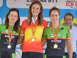 Susana Alonso del Extremadura Ecopilas subcampeona de España