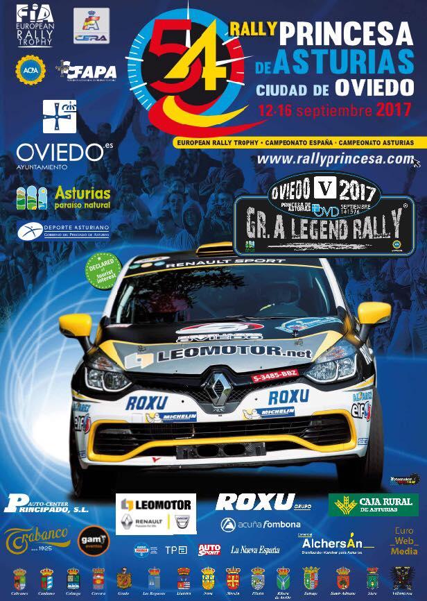 54 Rally Princesa de Asturias - Ciudad de Oviedo 2017