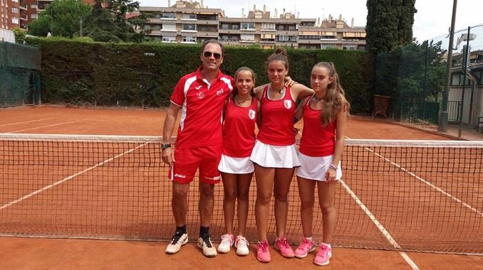 El Club de Tenis Cabezarrubia se ha impuesto en la final de consolación del Campeonato de España Infantil por equipos en categoría femenina
