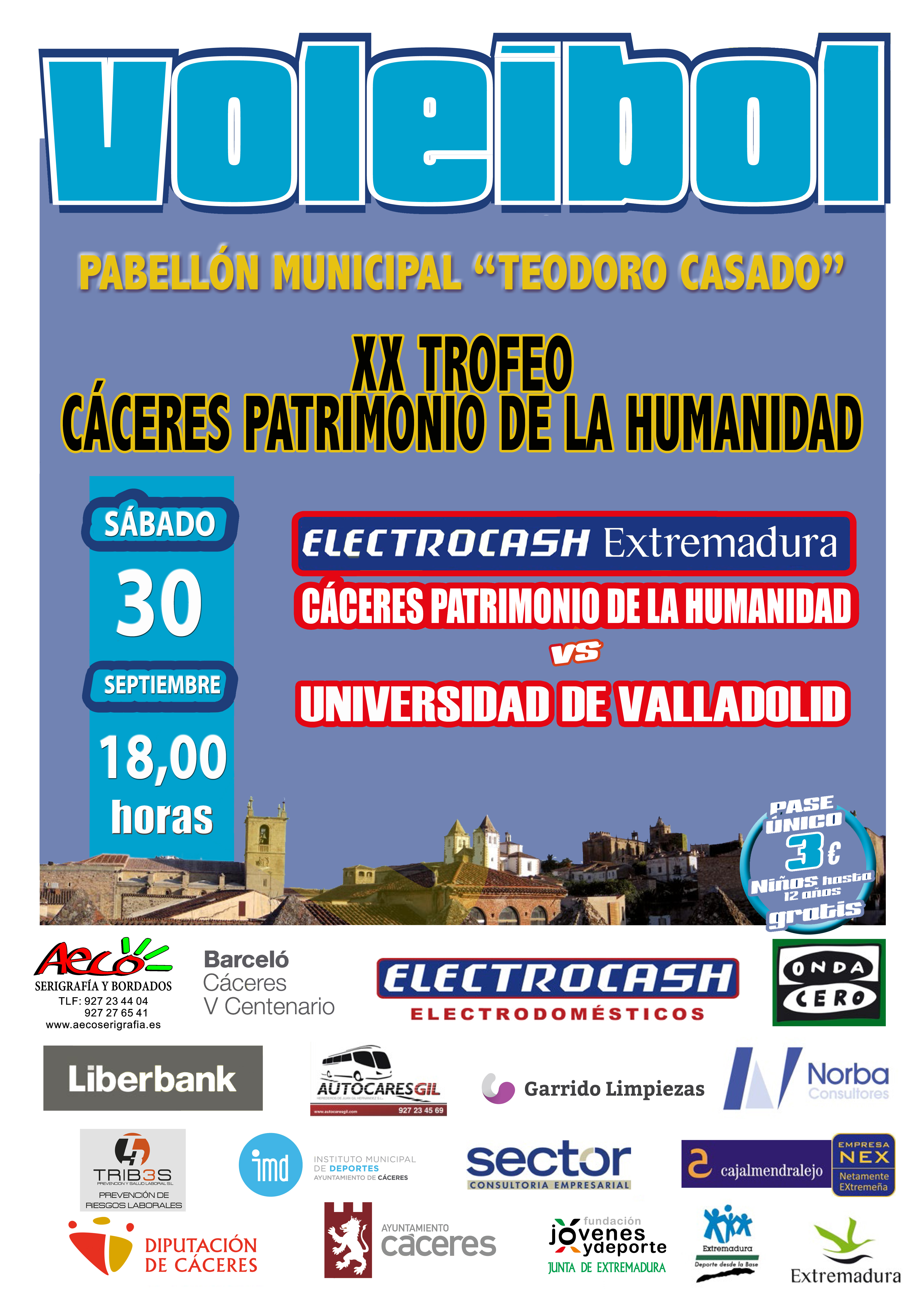 Electrocash Extremadura CCPH última prueba antes del inicio de liga