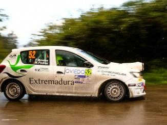 Paco Montes y Manuel Pedraz 54 Rally Princesa de Asturias Ciudad de Oviedo