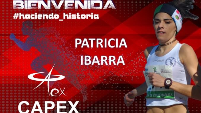 Patricia Ibarra nuevo fichaje del Capex para reforzar el equipo femenino