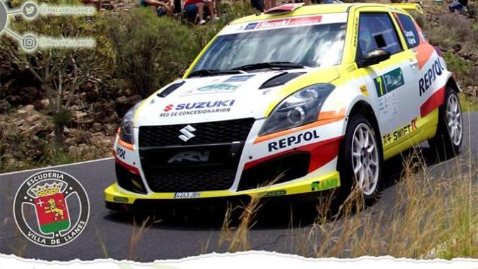 Reyes y Espinar en el 41 Rallye Villa de Llanes
