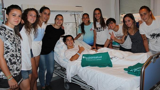 Sofía Melchor del Santa Teresa Badajoz es operada satisfactoriamente