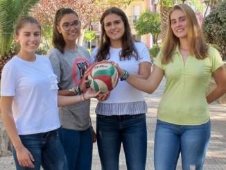 Aspirantes a princesas del Extremadura Arroyo