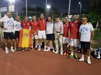 El Club de Tenis Global Atalaya Campeón de Extremadura por Equipos Veteranos