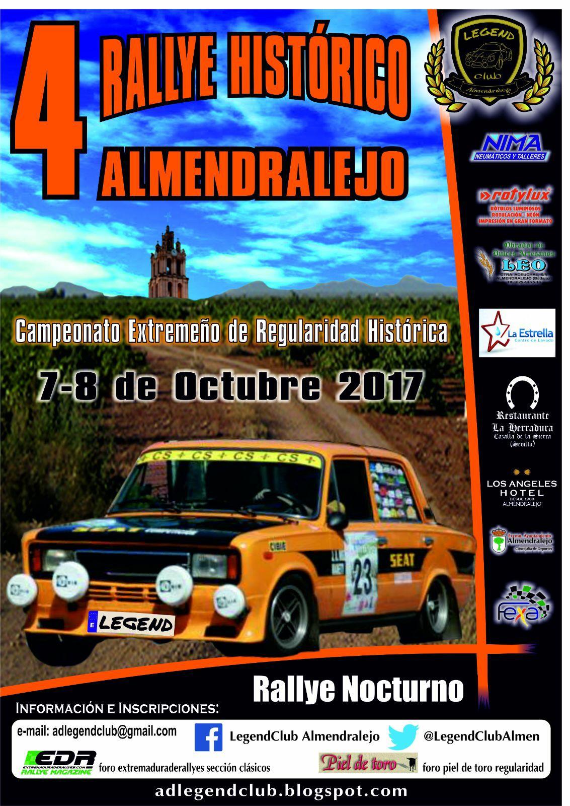 IV Rallye Histórico de Almendralejo