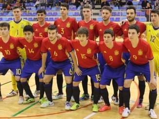 La Selección Española de Fútbol Sala Sub-19 jugará dos amistosos en Extremadura