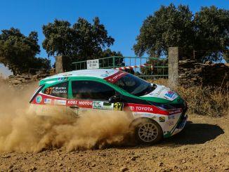 Los componentes del ERT sin suerte en el VIII Rallye Norte de Extremadura