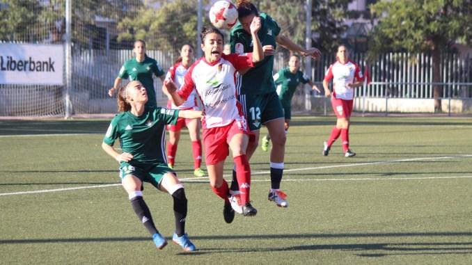 Los minutos iniciales pasan factura al Santa Teresa Badajoz ante el Real Betis