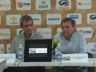 Presentación de la nueva plataforma digital para el baloncesto extremeño
