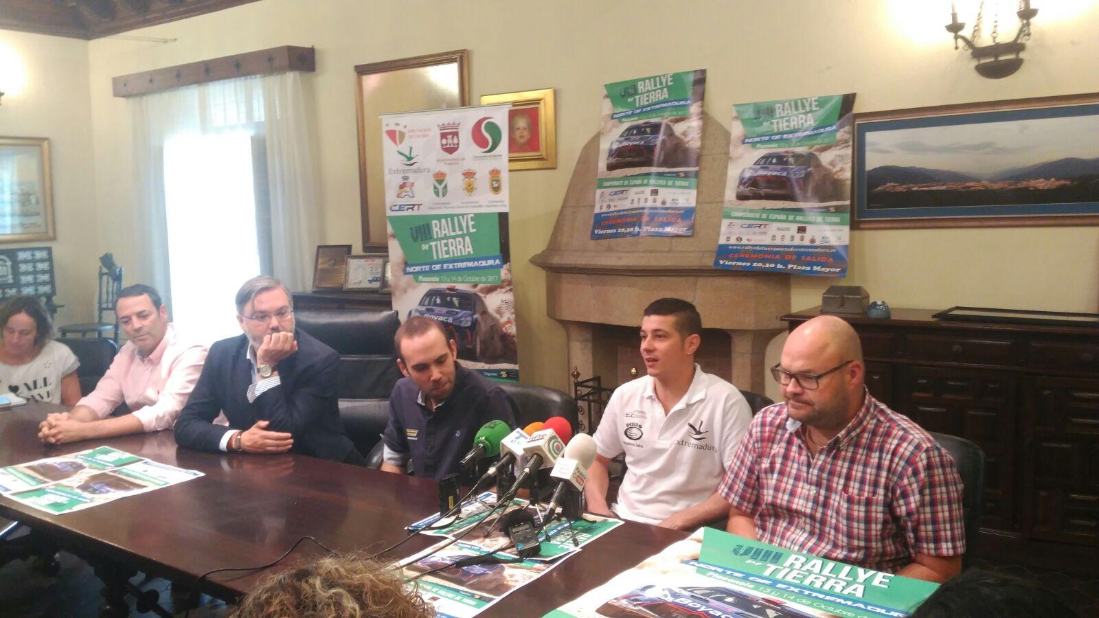 Presentado el VIII Rallye de Tierra Norte de Extremadura (1)