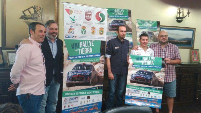 Presentado el VIII Rallye de Tierra Norte de Extremadura