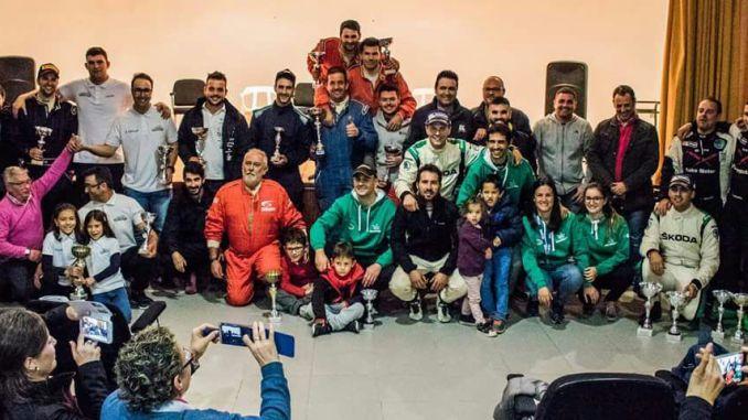 Brillante broche de oro del Extremadura Rallye Team en el Tramo Cronometrado de Campillo