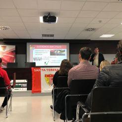 """El Santa Teresa Badajoz es """"un proyecto de todos"""". Éxito del encuentro empresarial (2)"""