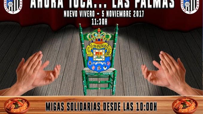 Migas solidarias antes del CD Badajoz frente a Las Palmas Atlético