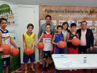 Presentación Plan Minibasket 2017-2018. Contará con la participación de más de 2700 niños y niñas de la región