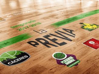Previa de los equipos extremeños de baloncesto en competiciones FEB