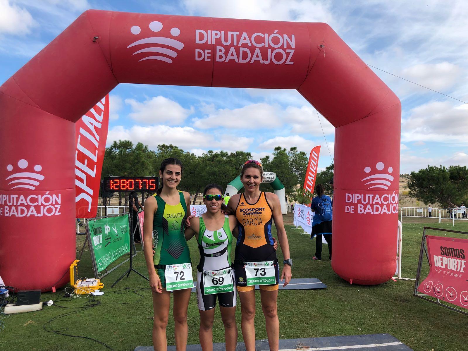 fem sprint Duatlón Cros Doña Blanca 2017