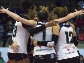 Las jugadoras del Extremadura Arroyo, muy distinguidas por su rendimiento en S2