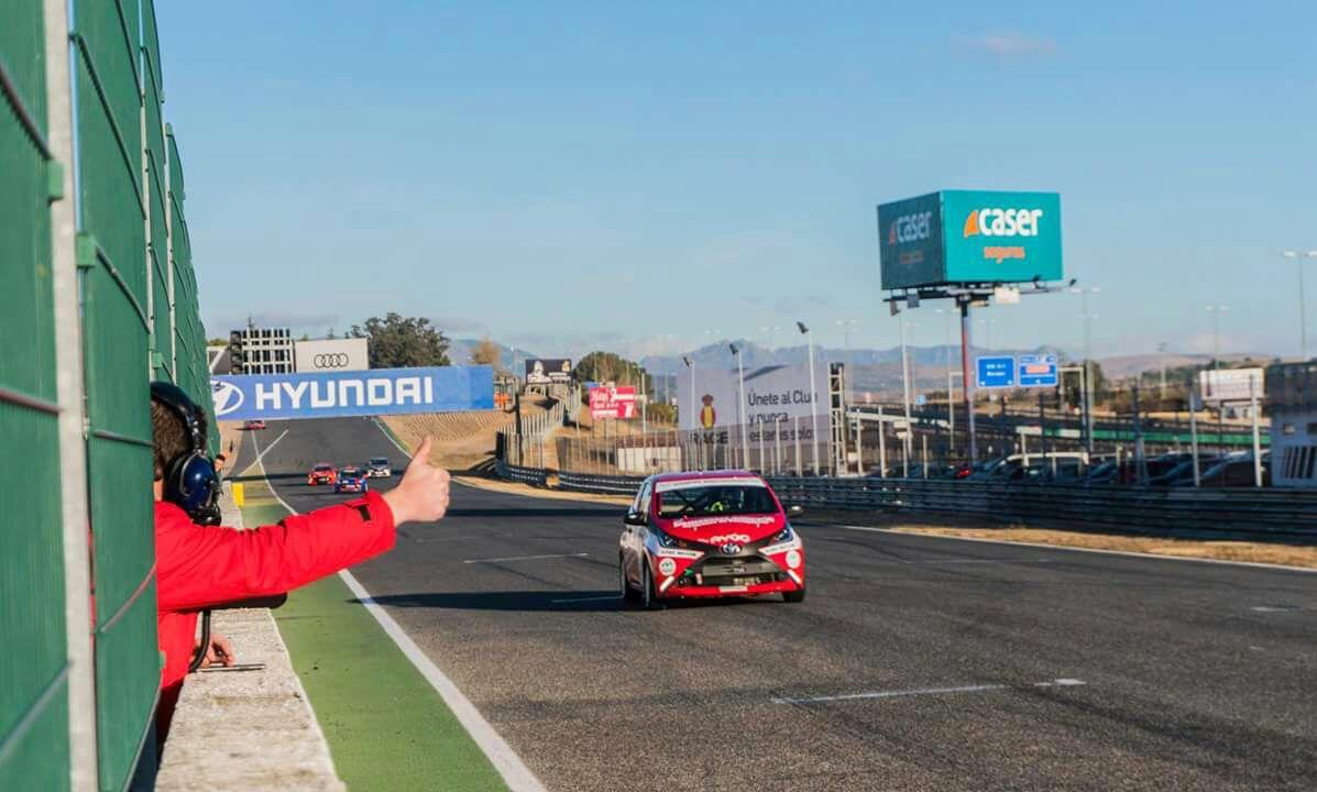 Sexta posición de Miguel Grande en el Trofeo Jarama de Navidad en la clase Kobe (1)