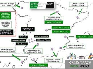 El Extremadura Rallye Team avanza las pruebas en las que tomará parte