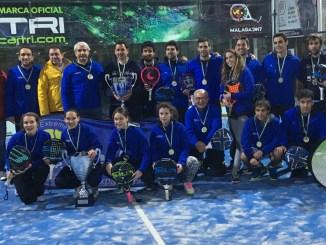 El Perú Cáceres Wellness Campeones de Extremadura de Pádel por Equipos Absoluto