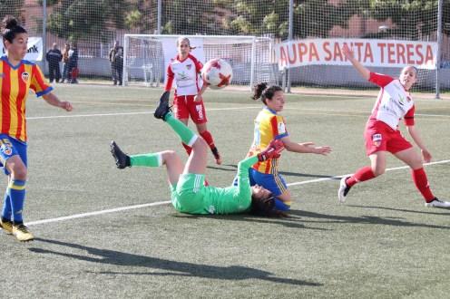 El Santa Teresa Badajoz suma un punto que pudo ser más ante el Valencia (1)