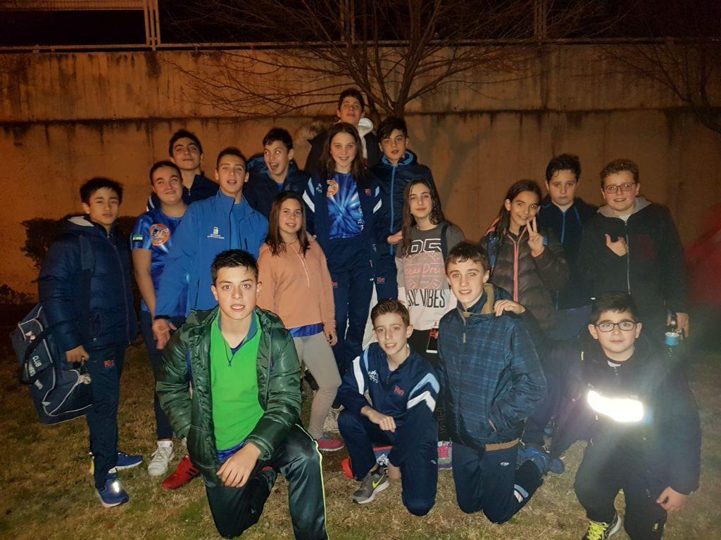 El Club de Salvamento Don Benito mejora las mínimas para Valladolid