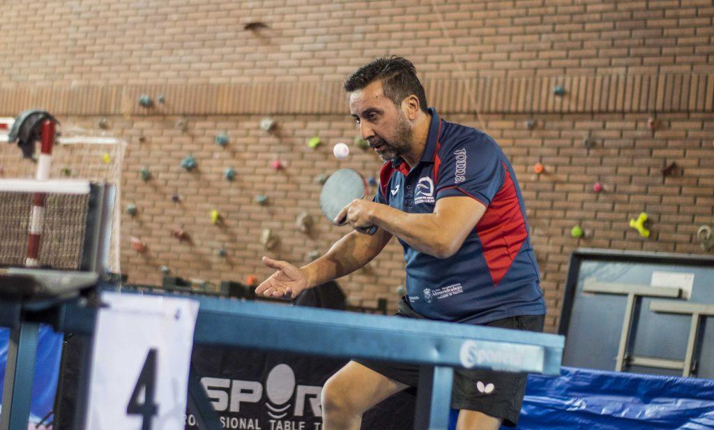 Malon López, un jugador diferente | Juan Bautista Pérez en el Open de Don Benito | Foto: Noelia Gallego