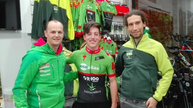 El joven ciclista extremeño Manu Cordero ficha por el Extremadura-Ecopilas MTB