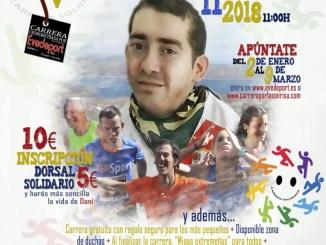 Cartel - Elena Ayuso, madrina de lujo para la V Carrera Solidaria por la Sonrisa de Dani