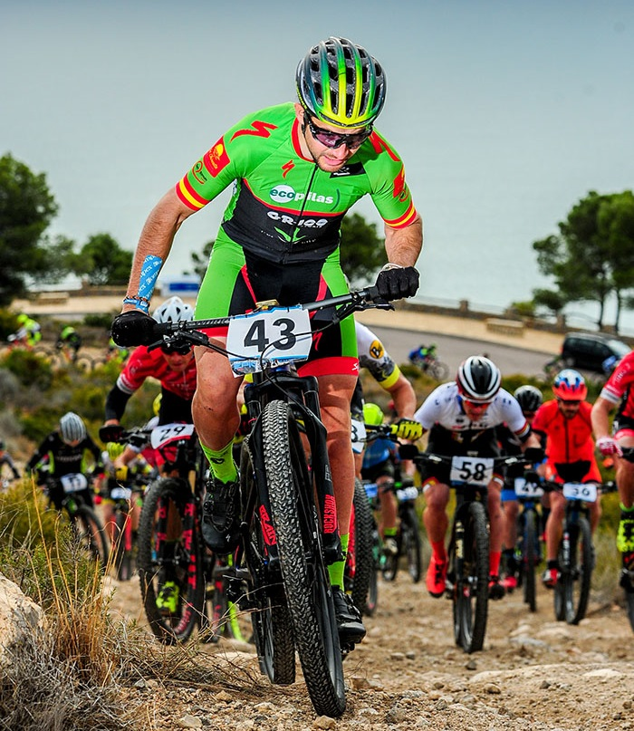 Dani Carreño debuta en una Andalucia Bike Race presented by Shimano