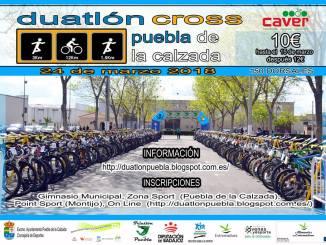 Inscripciones abiertas para el Duatlon Cross de Puebla de la Calzada