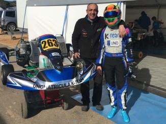 El extremeño Luis Belloso participó en la IAME Winter Cup en Valencia