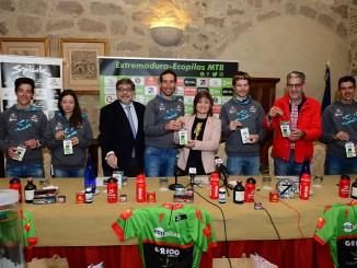 Se presentó en sociedad el Extremadura-Ecopilas MTB en el Parador de Plasencia