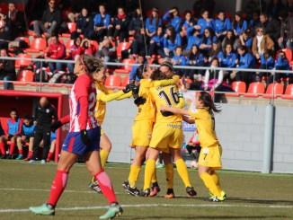 Un gran Santa Teresa Badajoz se queda sin recompensa ante el Atlético de Madrid
