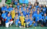 Asturias, Campeona de España Benjamín Fútbol Sala en Montijo (1)