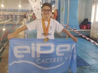 Guillermo Gracia vuelve a asombrar y gana dos medallas de oro, con récords incluidos