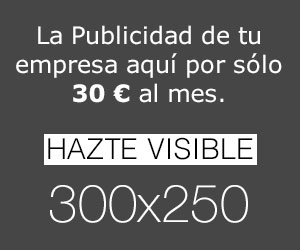 Hazte Visible aquí por 30 euros mes