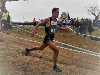 Raúl Parra, mejor atleta extremeño en el Campeonato de España Individual Campo a Través