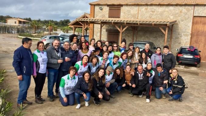 La plantilla del Extremadura Arroyo y su peña celebran un almuerzo para despedir la temporada