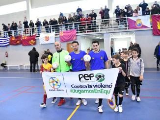Madrid y Asturias, Final del Campeonato de España Benjamín Fútbol Sala
