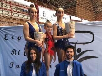 Oro y Plata en los Torneos de Guadalajara y Talavera para las Gimnastas de El Perú Cáceres Wellness