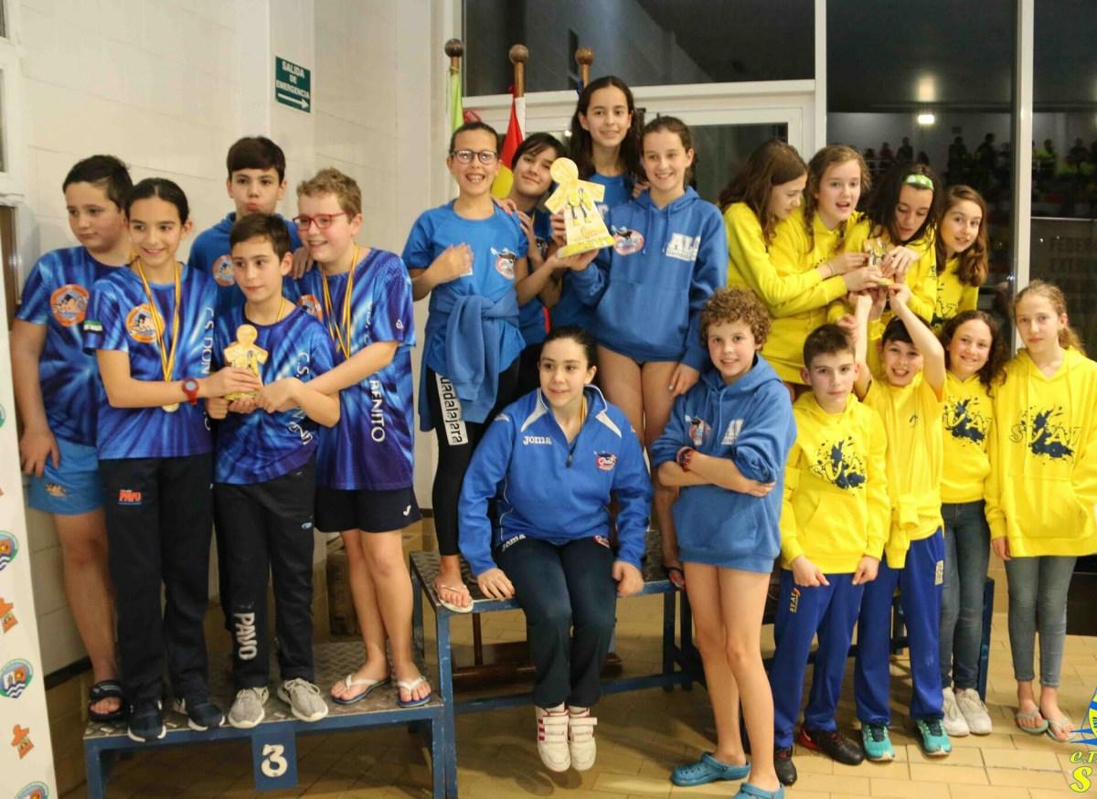 Resultados positivos del Club Salvamento Don Benito en el Trofeo Diputación de Cáceres
