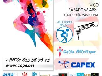 Cuarenta atletas del CAPEX absoluto masculino disputarán el cuadrangular de primera división nacional